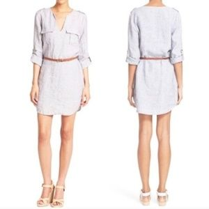 NWT JOIE Rathana C Linen shirt dress Large